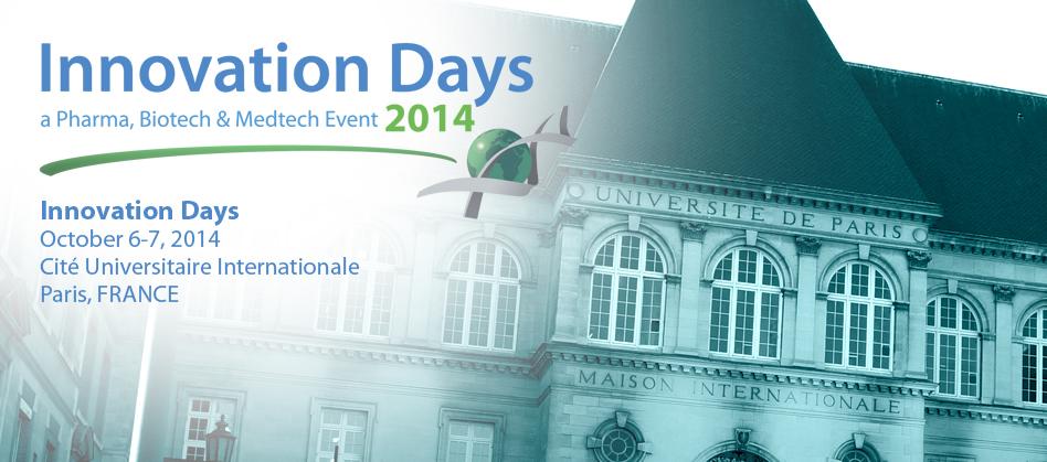 Innovation Days – Cité Universitaire of Paris – October 6 – 7 2014