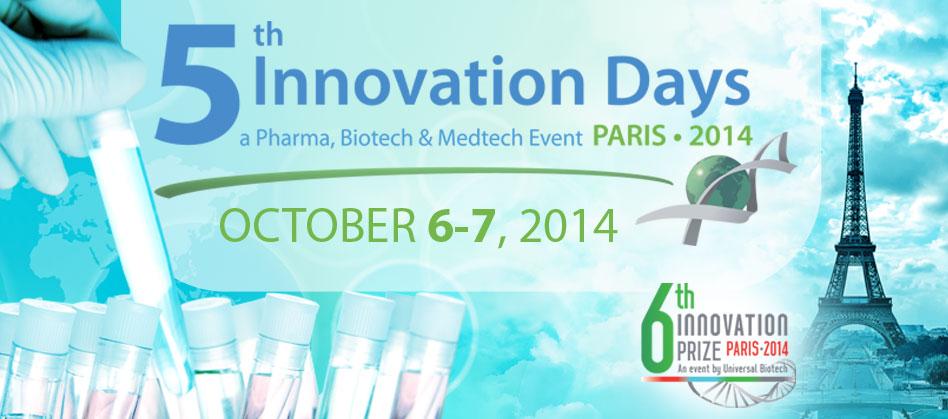 Innovation Days 2014 – Preliminary program – October 6-7