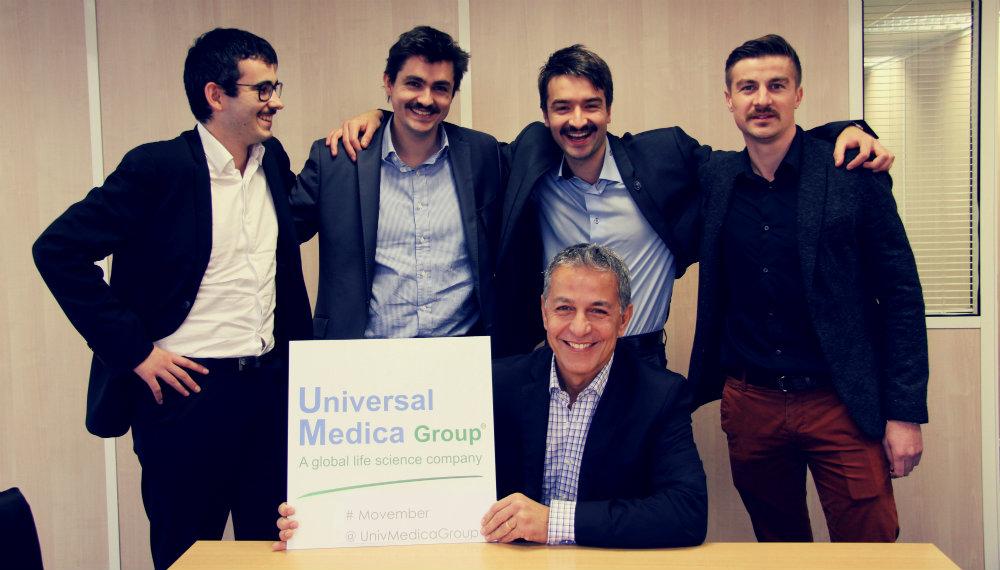 Universal Medica #320 ème au classement national Movember