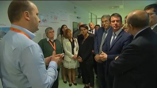 Biotechnologies : M.Valls salue un «éco-système exemplaire» à Lyon – – France 3 Rhône-Alpes