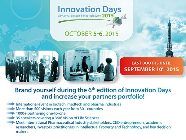 Innovation Days 2015 – Meet our latest speakers